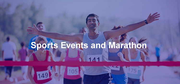 Sports Events and Marathon